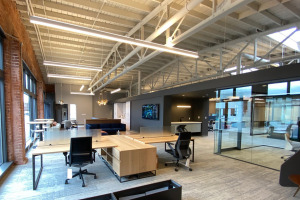 photo of workspace interiors knoxville worklife center