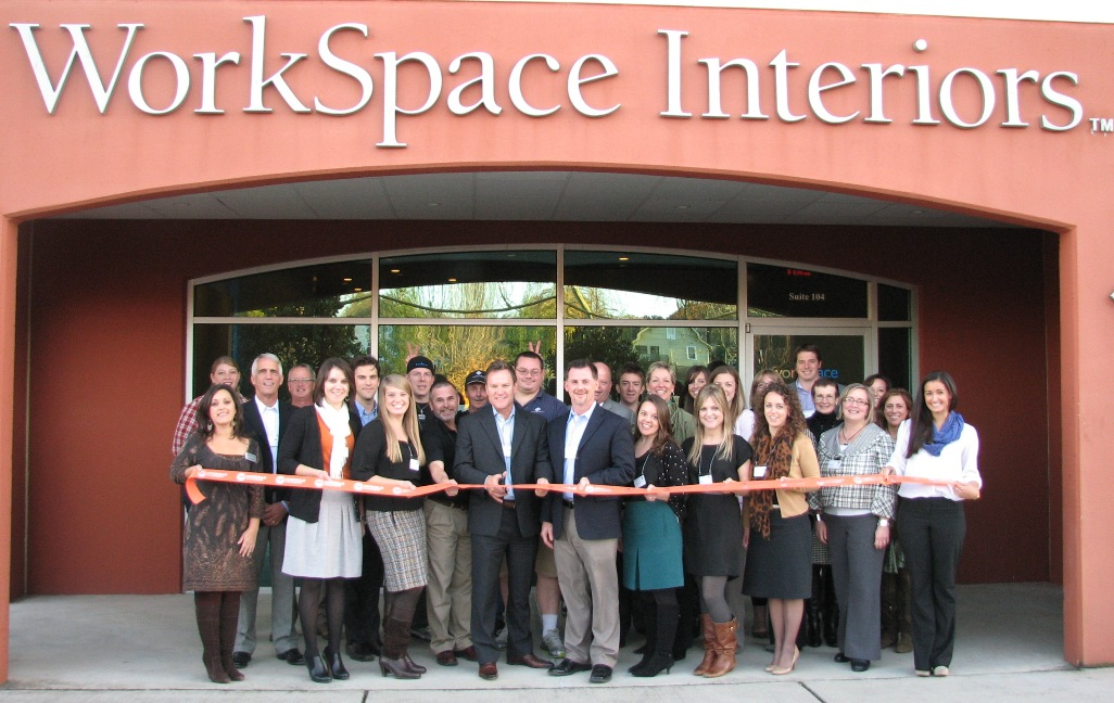 workspace interiors knoxville chamber ribbon cutting