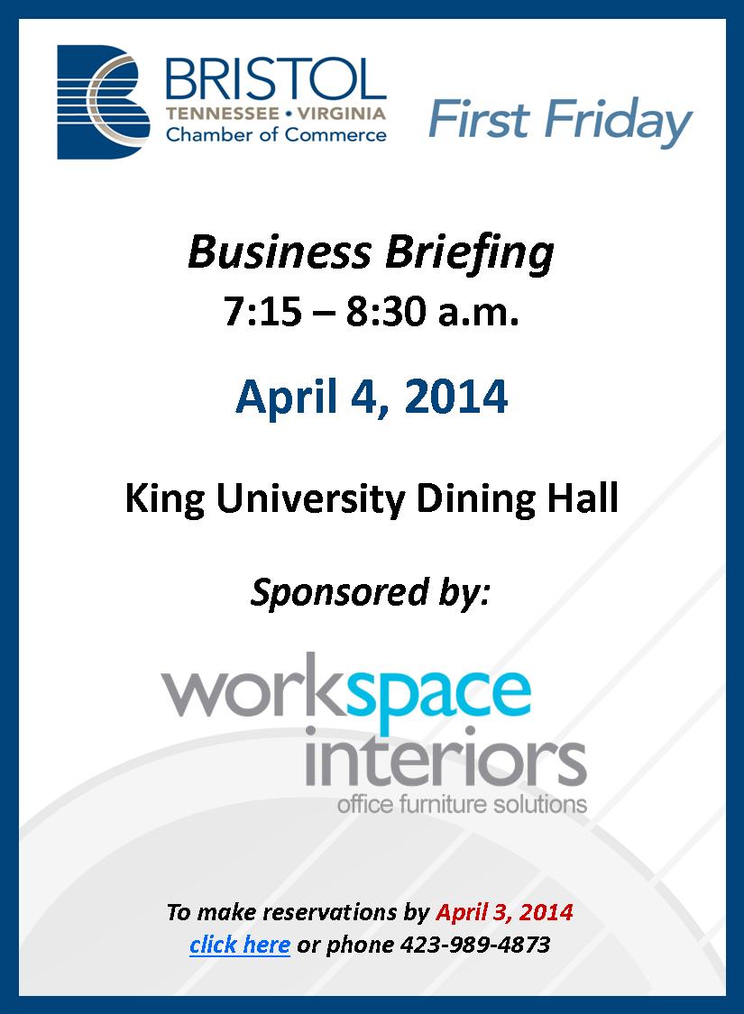 FFBB Invite Reminder Workspace Interiors 4-4-2014