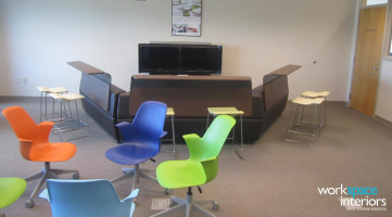 ETSU Active Learning Center furniture provided by Workspace Interiors Inc.