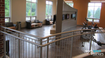 Milligan College Gilliam Wellness Center interior photo