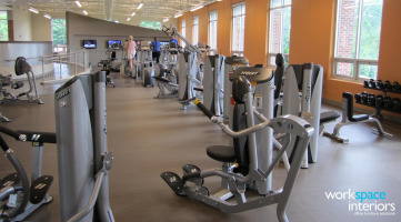 Milligan College Gilliam Wellness Center interior photo