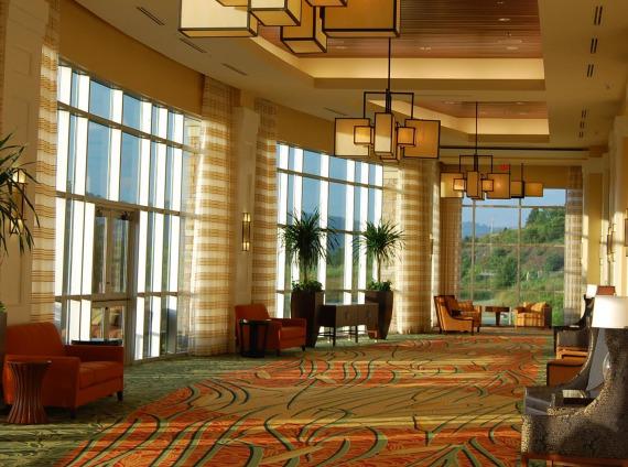 Marriott MeadowView Conference Resort & Convention Center interior corridor photo