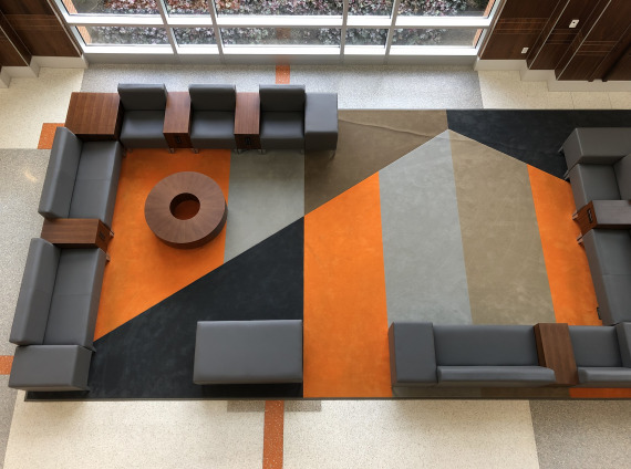 University of TN Knoxville Student Union furniture by workspace interiors