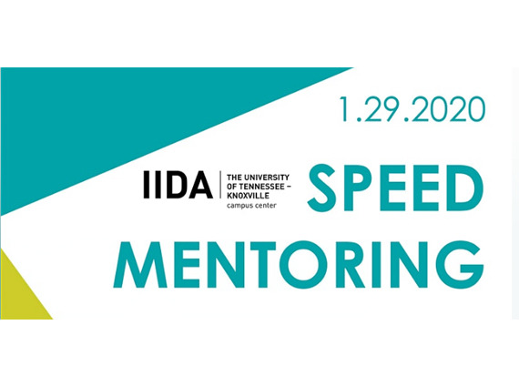 IIDA Speed Mentoring invite