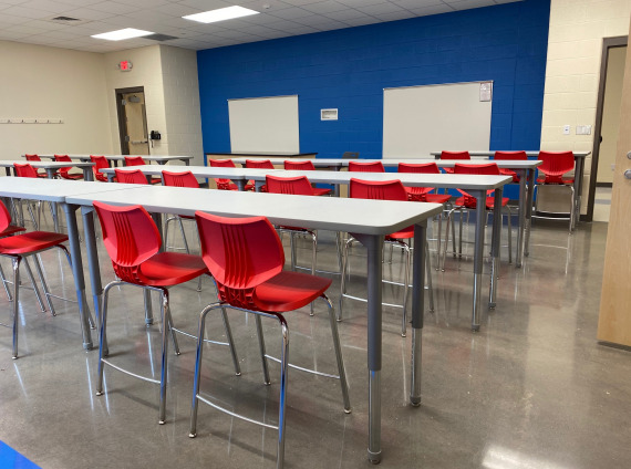 photo of Sullivan East Middle School classroom