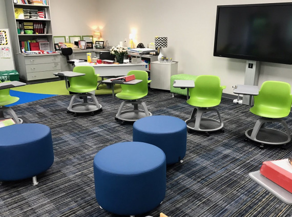 The Bright School, Chattanooga classroom furniture