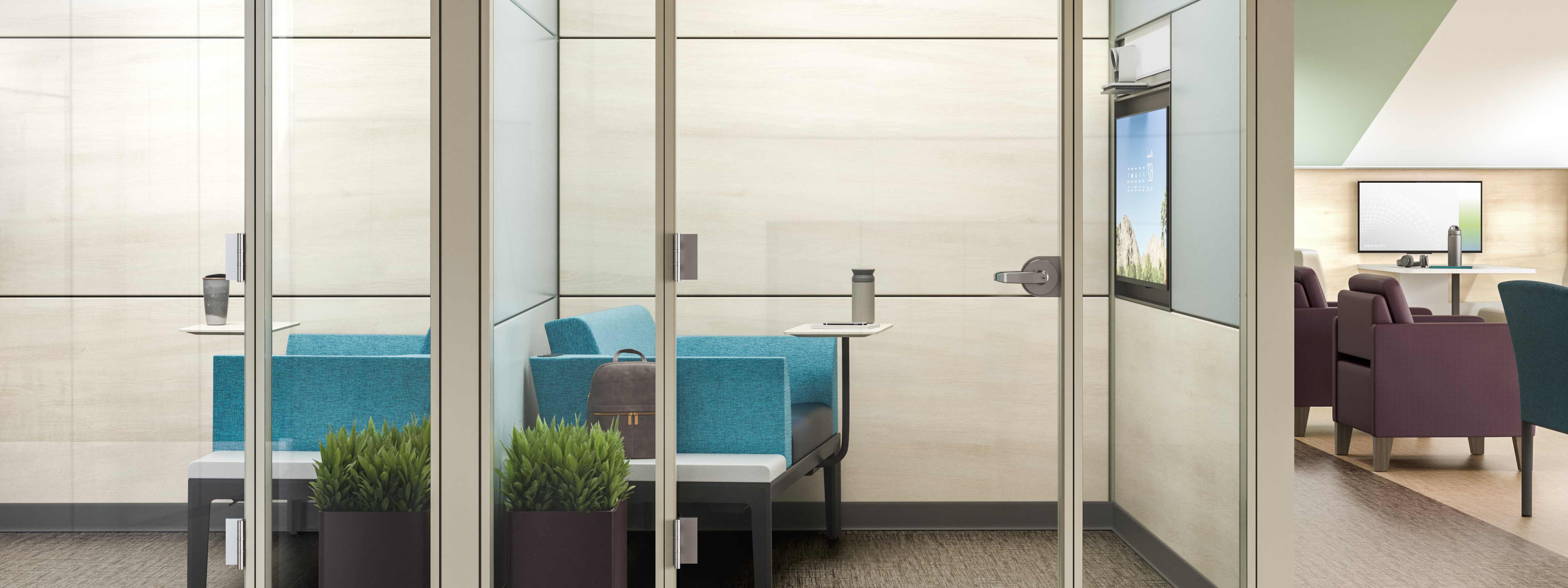 photo of healthcare private waiting rooms steelcase
