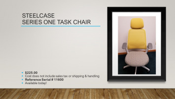 Steelcase Series One Task Chair for sale