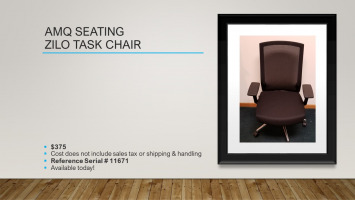 AMQ Zilo Task Chair for sale