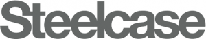 Steelcase logo grayscale