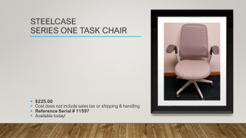 Steelcase Series One Task Chair