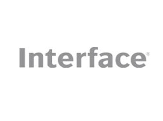Interface flooring logo grey