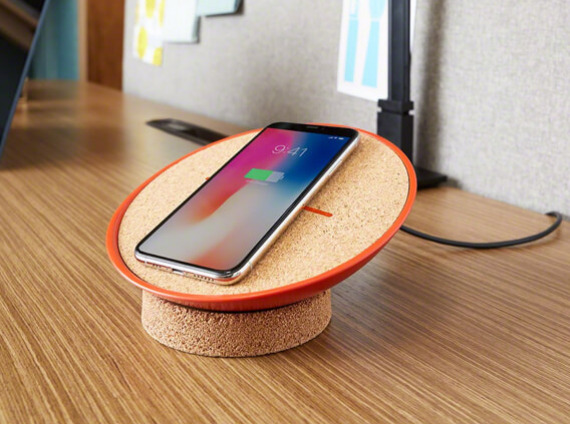 photo of a Steelcase charging accessory