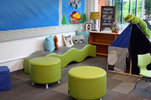 The Bright School Chattanooga Active Learning Classroom