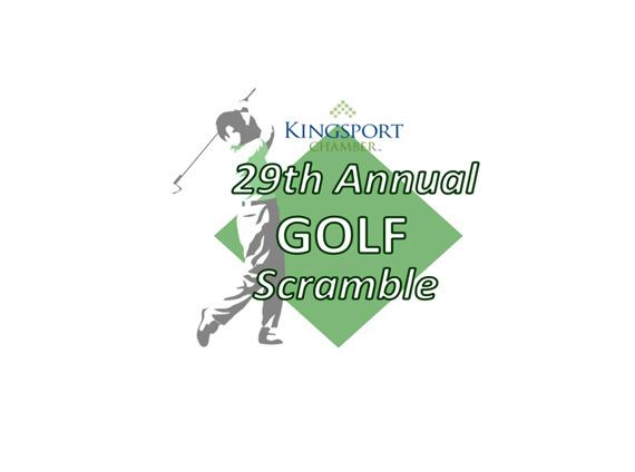 Kingsport Chamber of Commerce 29th Annual Golf Scramble logo