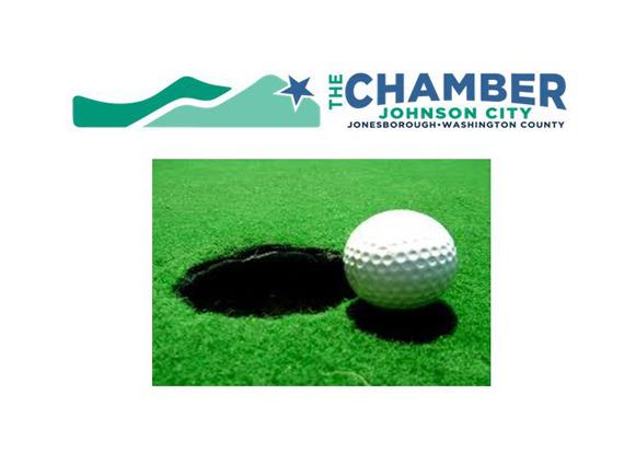 Johnson City Chamber of Commerce Annual Golf Tournament logo