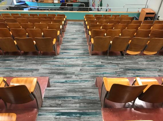 Andrew Jackson Elementary School Kingsport TN auditorium seating