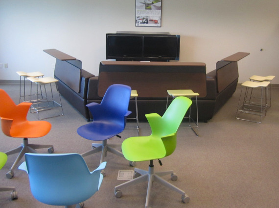 ETSU Active Learning Center Classroom with MediaScape by Steelcase